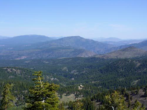View north to Verdi Peak 8444'