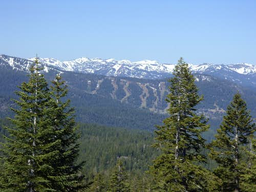 View to the Granite Chief Wilderness