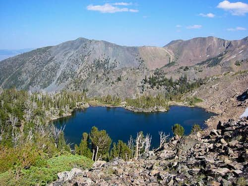 Buck Lake #1 (highest) on the...