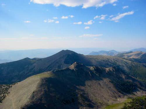 View of the Northwest ridge...