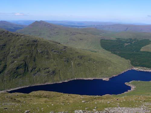 Loch Sloy reservoir