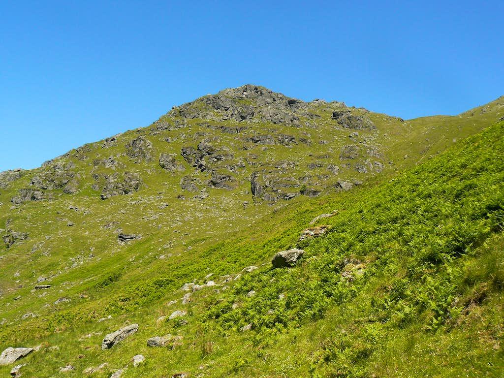 Beneath Ben Vorlich's ridge