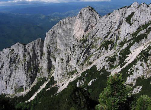 Padina Popii touristic route.
