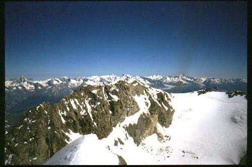 Fletshorn from Lagginhorn top