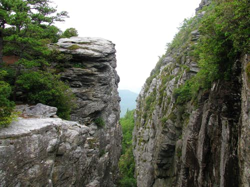 Cliffs Near Table Rock