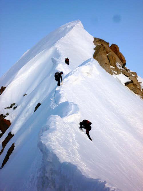 Aiguille Verte summit (4122m)