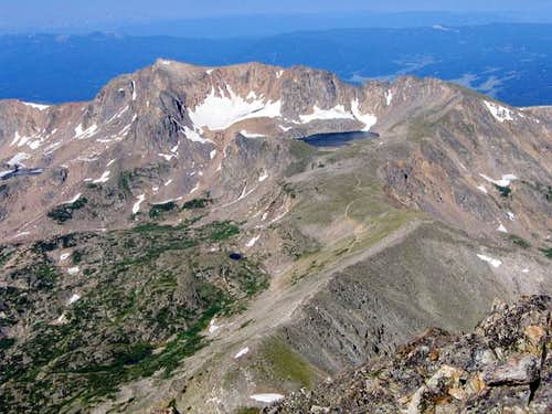 Mount Neva from the summit of...
