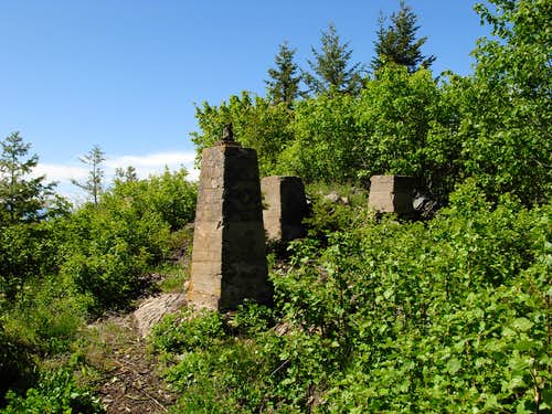 Yaak Mountain Lookout Remains