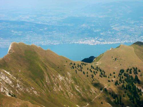 Dent d'Oche - Summit view...