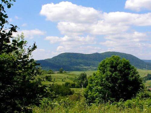 Mount Cergowa (716 m)