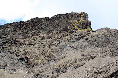 South cliffs of Veleta