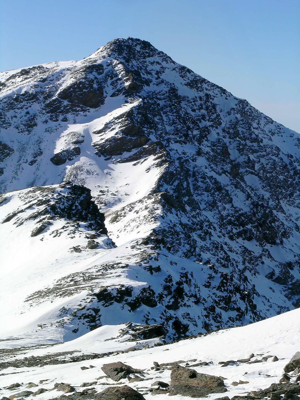 East face of Mulhacén