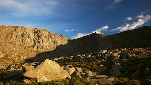 Glyder Fach and Y Gribyn Ridge