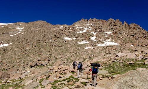 Pikes Via Northeast Ridge: The Road Less Traveled