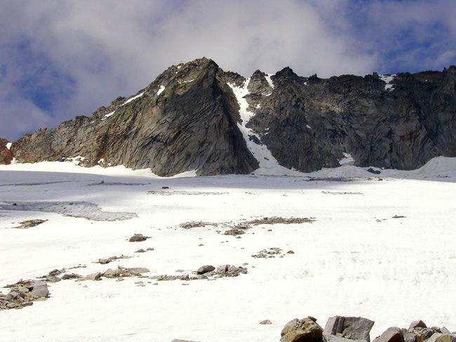 South ridge-Detmolder Grat is...