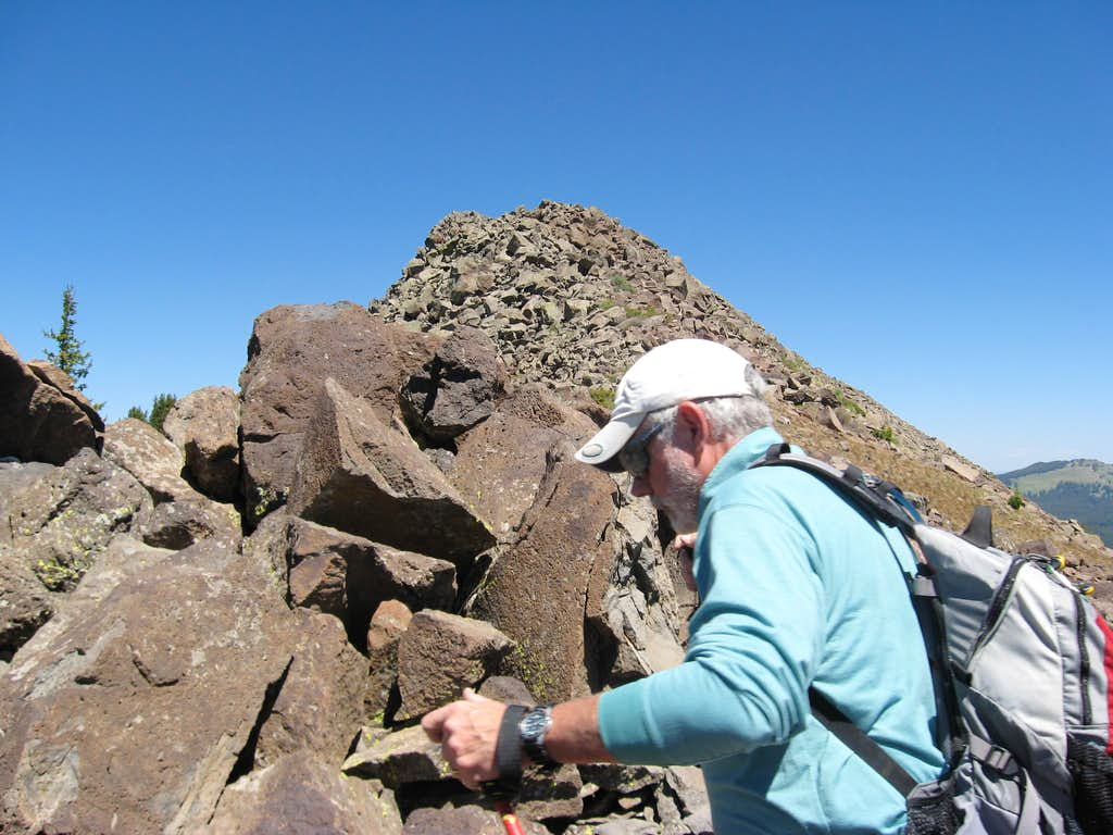 Crater Peak Rocks