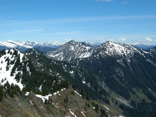 Labyrinth Mountain from Jove