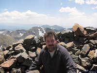 Me on Wheeler Peak, NM