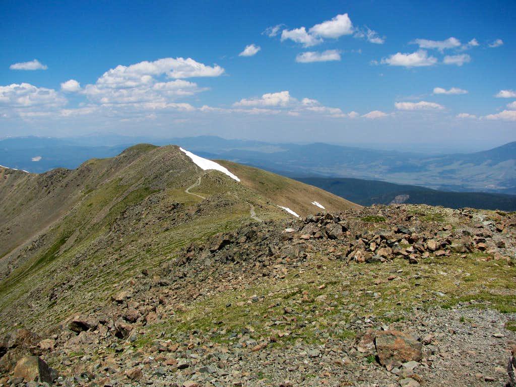 Mt. Walter from Wheeler Peak
