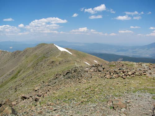 Mt. Walter from Wheeler Peak