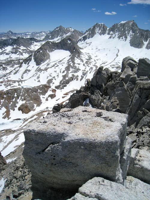 BCS from the summit of Ruby Peak...