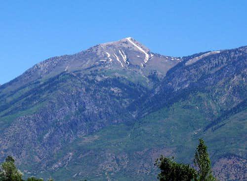 Sleigh Runner on Box Elder Peak