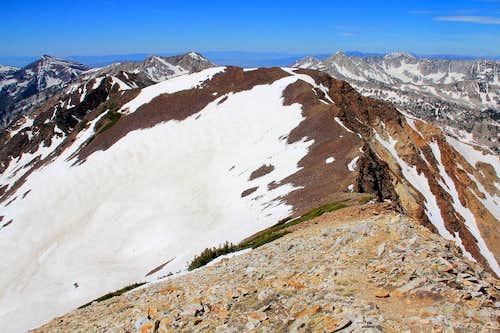 Wasatch 11,000 foot peaks