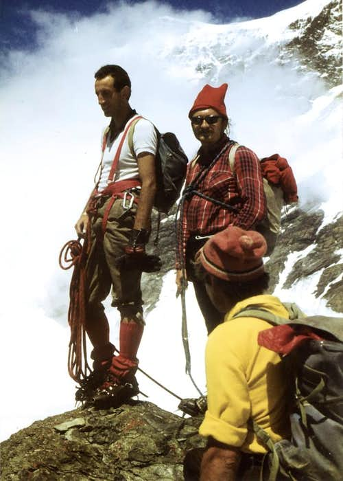 EMO & SUGG GRAND TETE de BY SUMMIT (3588 m) 1979