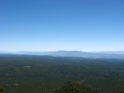 Mingus Mt, Woodchute Mt, and the upper Verde Valley