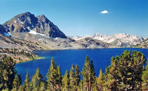 Duck Lake from the northeast end