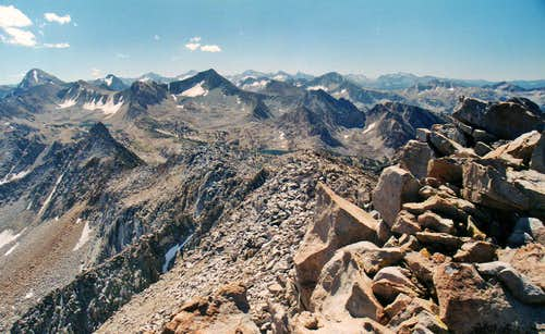 South from  Duck Lake Peak