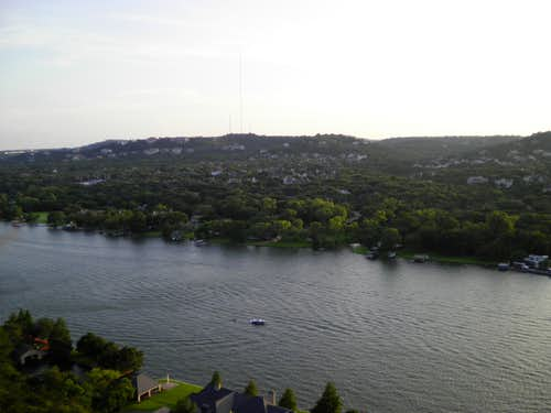 Looking southwest from Mount Bonnell