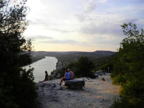 North along Lake Austin