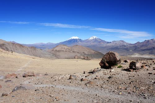 Terrain of Sajama