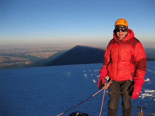 Myself on Illimani Summit