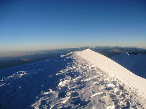 Illimani Summit Ridge