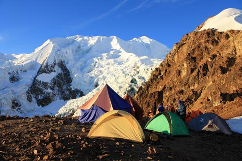 Illimani High Camp