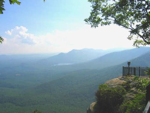 The high peaks area around...