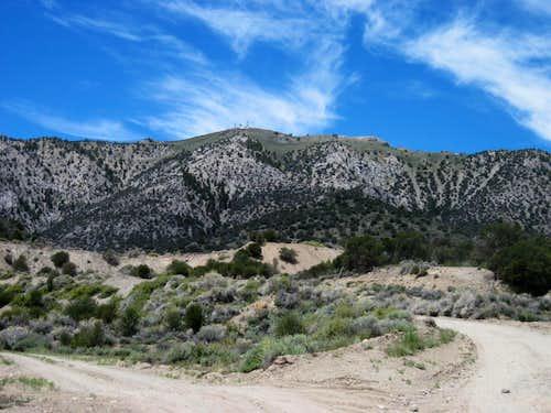 Prospect Peak, Nevada