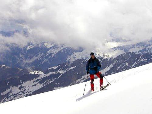 Skiing from Grossvenediger is...