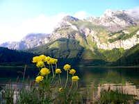Trnovachko lake, Maglic behind