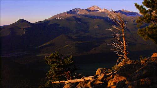Sunrise on Deer Mountain