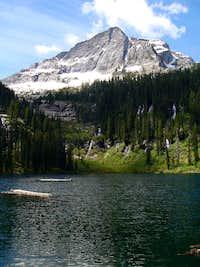 St Paul Peak And Lake