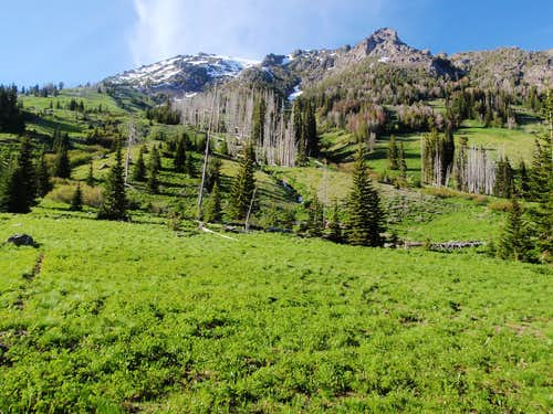 Mount Gardner Southern Slope
