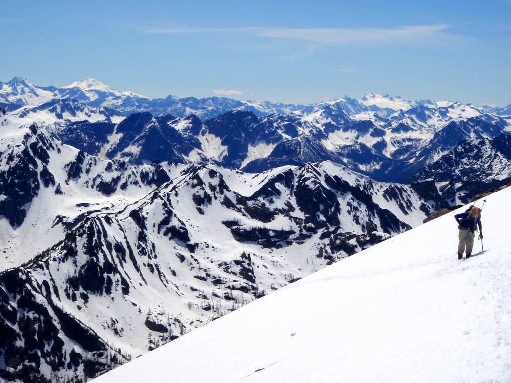 Mount Gardner, Upper Slopes
