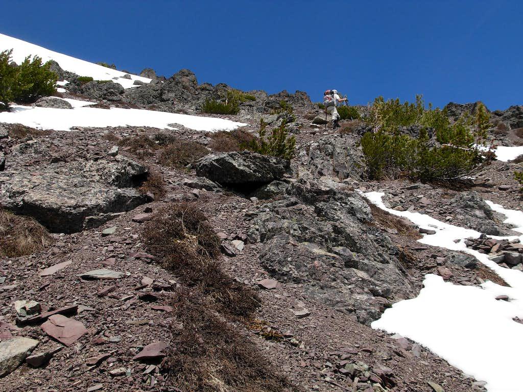 Ascending Gardner - South Slopes
