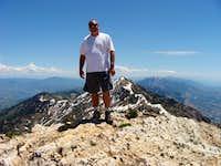 Willard Peak from North Ogden Divide