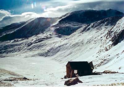 Abandoned Mining Shack Above...