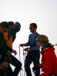 Reviewing Glacier Travel on the Easton Glacier