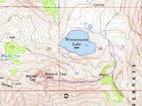 East Ridge route topo